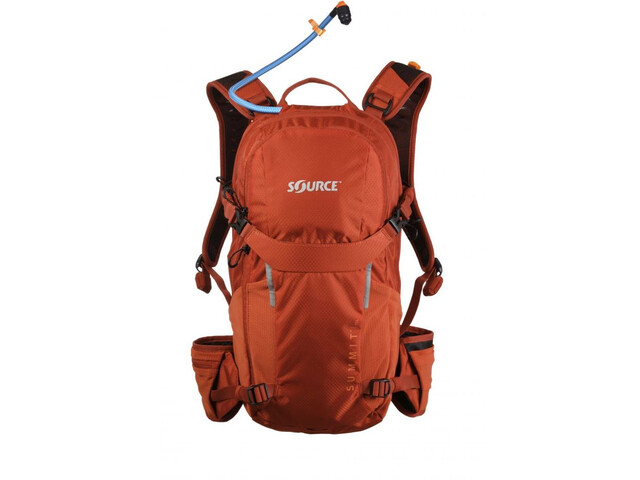SOURCE Summit Hydration Pack 15l, chili orange